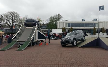 Land Rover na Poznań Motor Show 2017