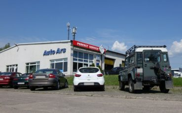 Siedziba warsztatu samochodowego Auto Ars