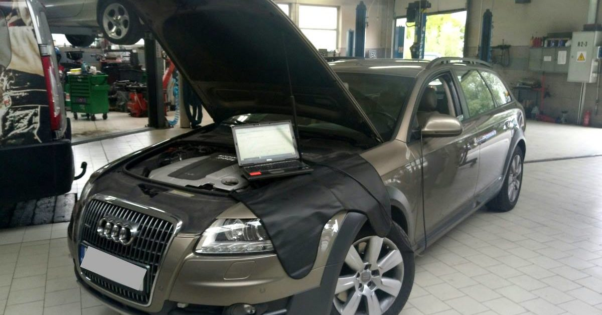 Audi A6 Allroad - Chip Tuning w Auto Ars