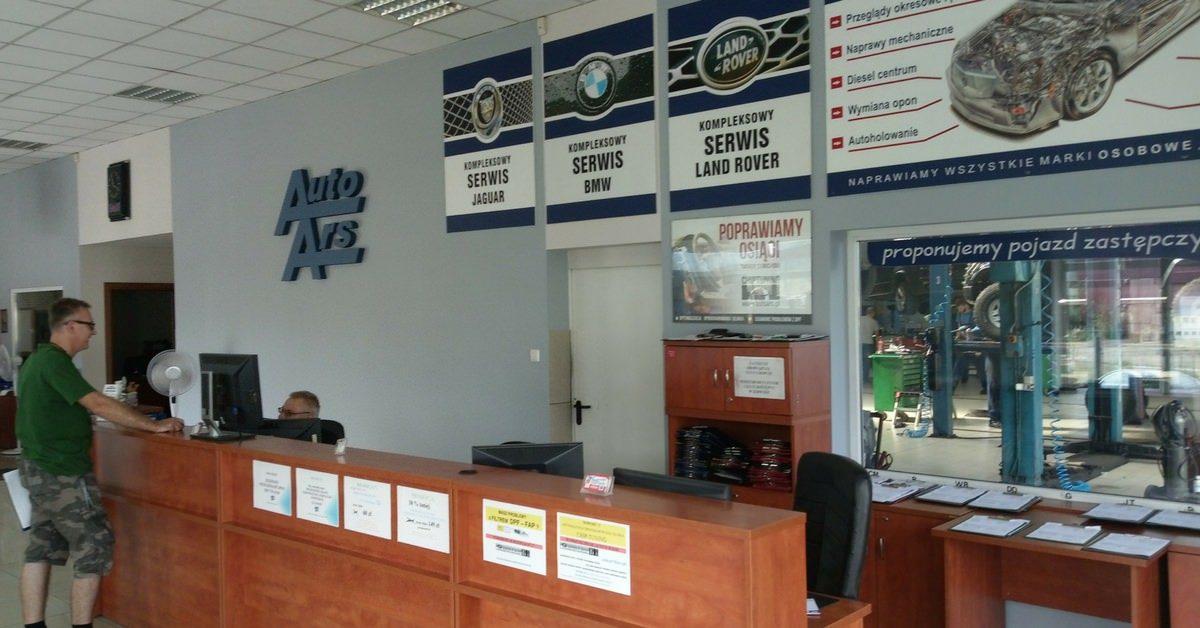 Biuro Obsługi Auto Ars po remoncie
