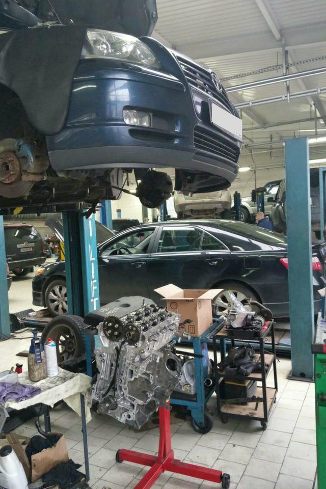 Naprawa silnika w Toyocie Avensis