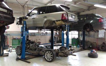 Range Rover Sport 2.7D 2008 wymiana silnika w Auto Ars