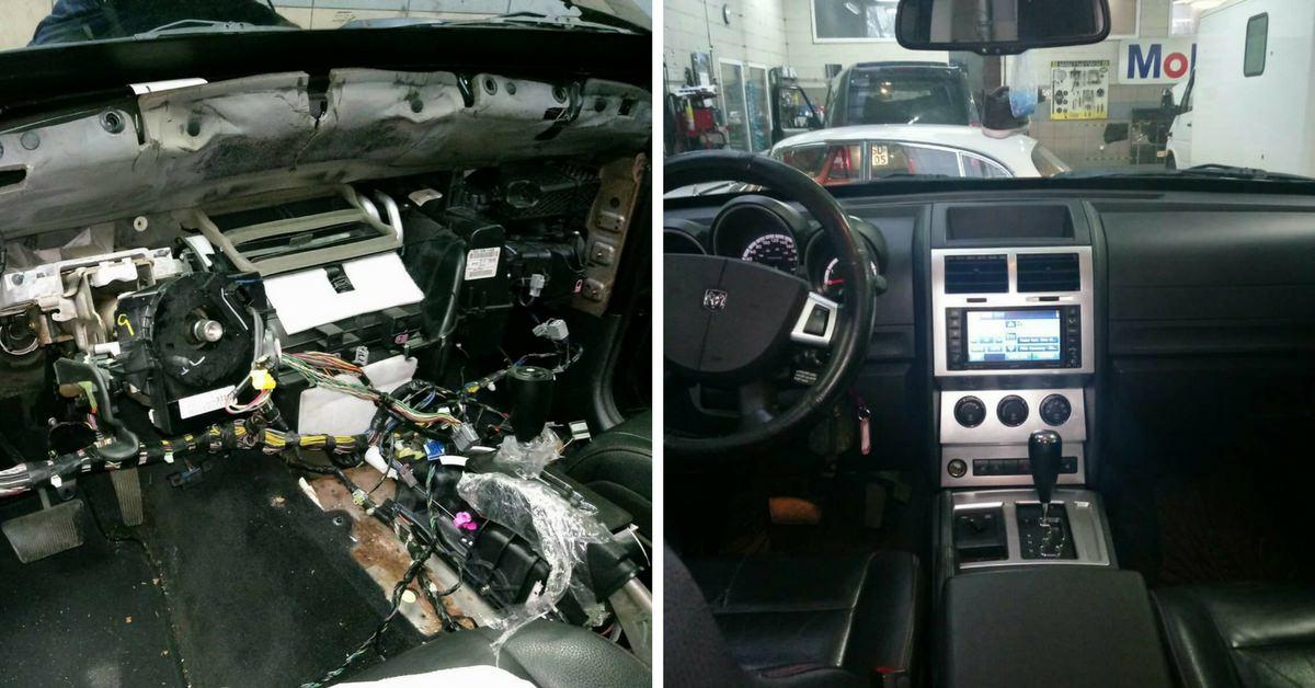 Dodge Nitro - wymiana nagrzewnicy w Auto Ars