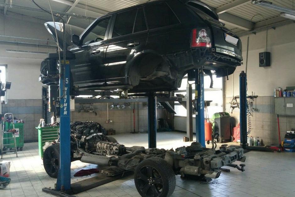 Range Rover Sport 3.0 Diesel wymiana silnika w Auto Ars