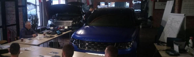 Szkolenie Land Rover Jaguar marzec 2019