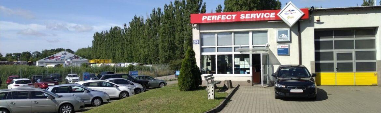 Serwis samochodowy Auto Ars przy ul. Krakowskiej 59d w Szczecinie