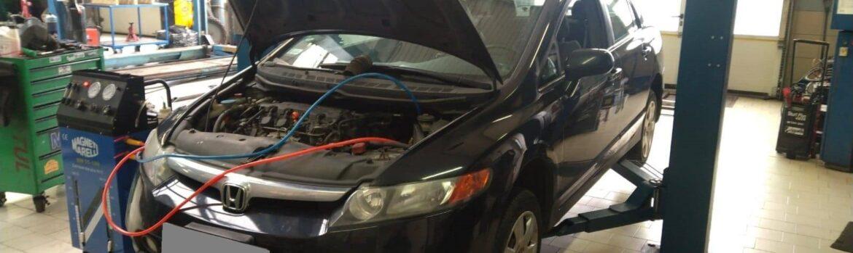 Dynamiczna wymiana oleju w automatycznej skrzyni biegów - Honda Civic