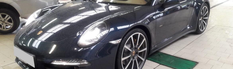Serwis hamulców węglowo-ceramicznych w Porche Carrera 911. Wymiana klocków w Auto Ars
