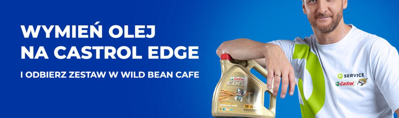 Wymień olej i odbierz kartę do Wild Bean Cafe