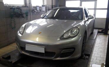Diagnostyka i naprawa Porsche Panamera w serwisie samochodowym Auto Ars
