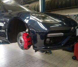 Porsche Panamera - serwis hamulców