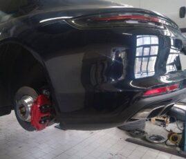 Porsche Panamera - serwis hamulcowy